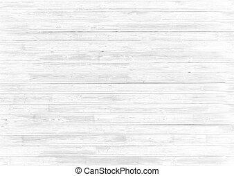 blanco, madera, resumen, plano de fondo, o, textura