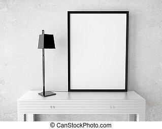 blanco, marco