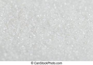blanco, orgánico, bastón, azúcar, contra, un, fondo., foco...