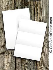 blanco, papel, blanco