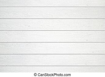 blanco, pared de madera, textura, plano de fondo
