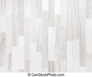 blanco, parqué, textura de madera
