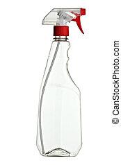 blanco, sanitario, botella, producto