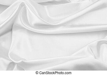 blanco, seda