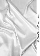 blanco, seda, plano de fondo