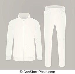 blanco, tracksuit