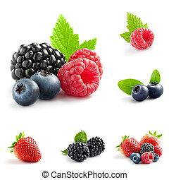 blande, berry