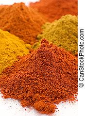 blande, krydderi