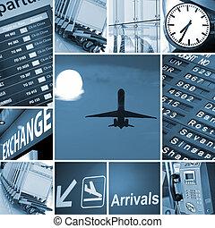 blande, lufthavn