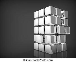 Blank 3d Cubes