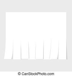 Blank advertisement template