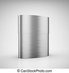 Blank aluminum case