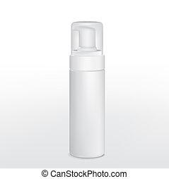 blank aluminum spray cans