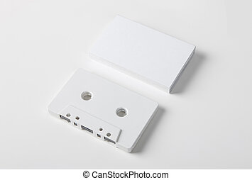 Blank audio cassette