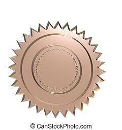 Blank badge. - High Quality Blank badge.