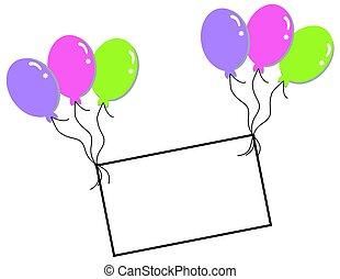 Blank Balloon Template