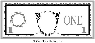 Blank bank note