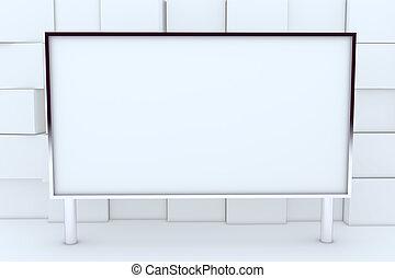 Blank Big Box Display Aluminum Frame