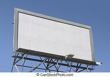Blank Billboard - Fill in this blank billboard with your own...