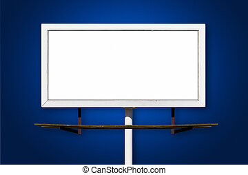 Blank Billboard Outdoor Advertising