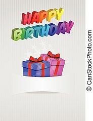 blank birthday