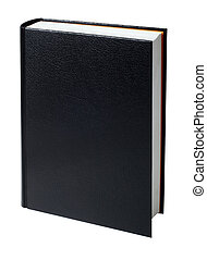 blank black book - Brand new black hardcover book with blank...