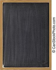 blank blackboard sign - blank blackboard with vertical white...