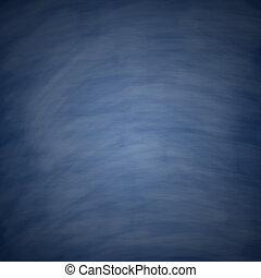 Blank Blue Chalkboard