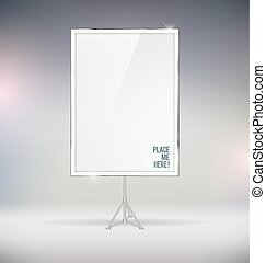 Blank Board Vector Mock Up