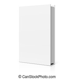 Blank book cover illustration