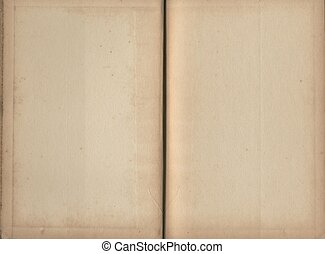 Blank book pages