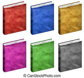 Blank book  plasticine stick