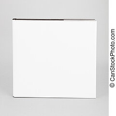 Blank book white cover 8 x 8 in