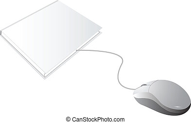 Blank Books and White Mouse