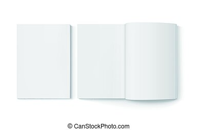 blank books design