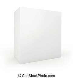 Blank box on white background.