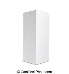 blank box product