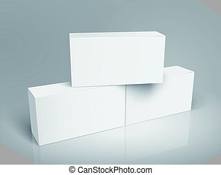 blank boxes design