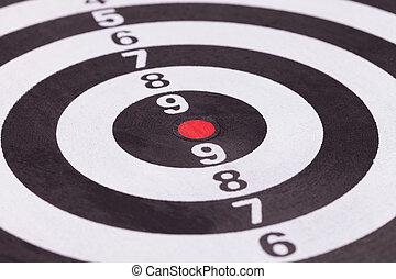 bulls eye target - blank bulls eye target