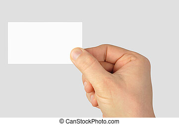 Blank business card stock photo images 170070 blank business blank business card hand holding blank business card reheart Choice Image
