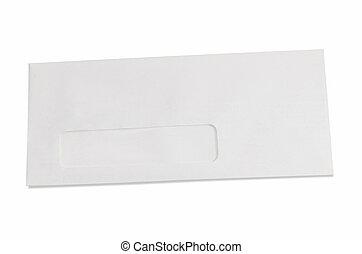 Blank Business Envelope
