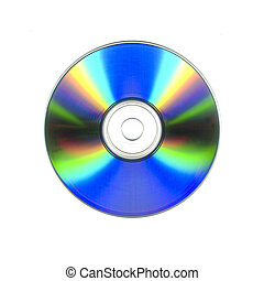 A blank recordable cdrom