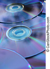 Blank CD or DVD Media Storage