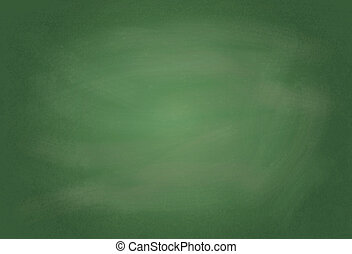 Blank chalk board illustration - Empty realistic black board...