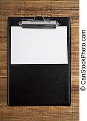 blank clip board