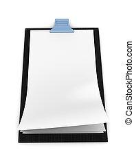 Blank clipboard