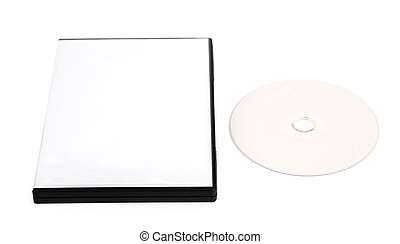 Blank compact disc mock up