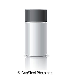 blank cosmetic container