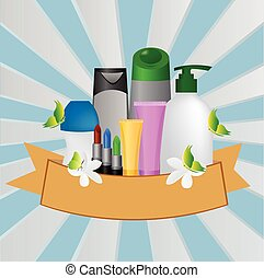Blank cosmetic tubes ,  Vector