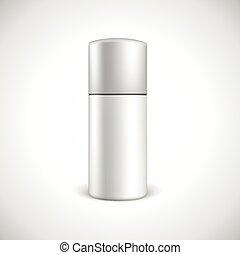 Blank cosmetics bottle